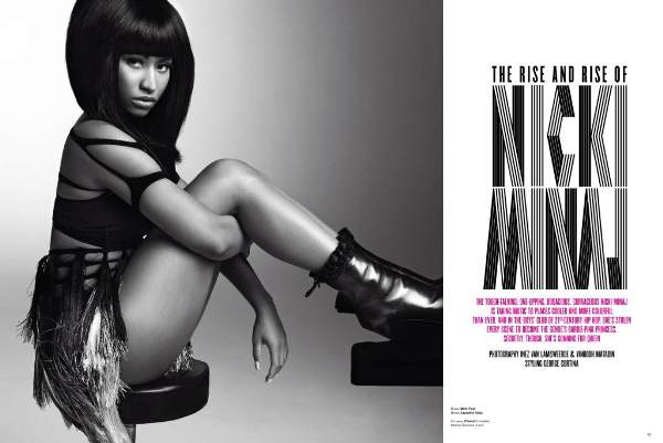 V Magazine Nicki Minaj_