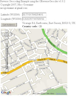 Reverse Geocoding Updated - New v1.0.2