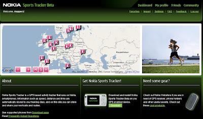 Nokia Sports Tracker Beta