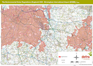 UK Airports Noise Maps from Defra