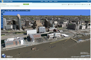 Liverpool Buildings in 3D Virtual Earth