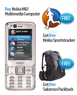 Nokia N82 with Adventure Pack