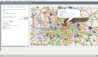 Online Archaeology -Integrates UK_Address Geocoding