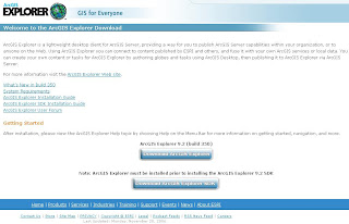 ArcGIS Explorer 9.2 (Build 350) Gets Fixed