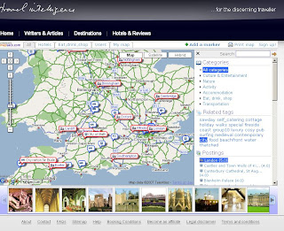 Travel Intelligence UK Map