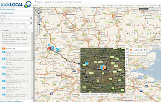 LookLocal Maps Live Local with Driving Directions