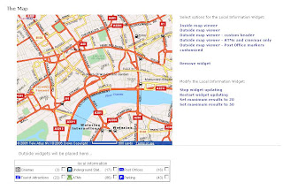 Multimap Map Widget