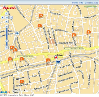 Yahoo Local Map Static