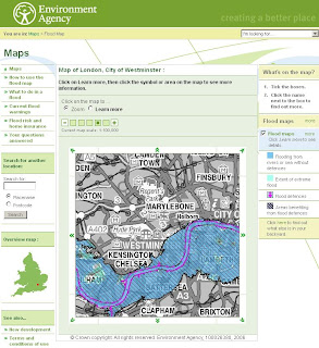 Environment Agency Flood Maps