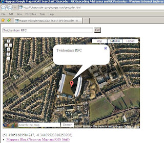Twickenham RFC in Satellite Mode