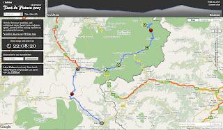 Tour de France map live