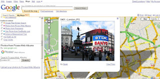 Picasa Mapplet Search - Geotagged Photos in MyMaps