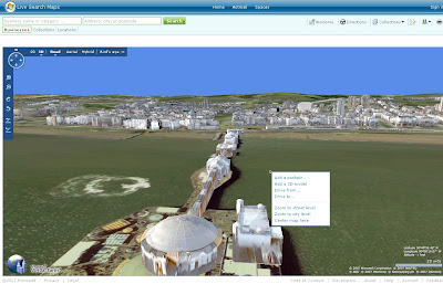 New Live Maps Brighton in 3D
