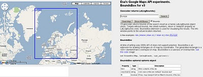 Geocoder with Bounding Box - Extent
