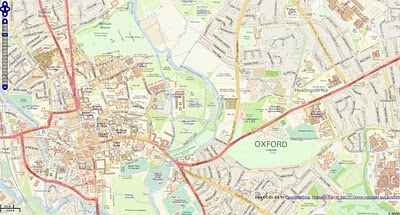 Ordnance Survey Streetview (Rasters) with Open Street Map