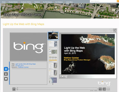Light Up the Web with Bing Maps