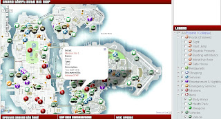 Grand Theft Auto4 Google Powered Map