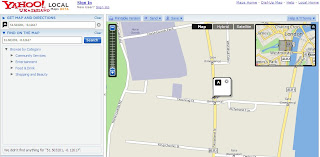 Yahoo Where Geocoder Map