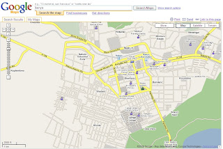 Students Map Kenya now on Google Maps