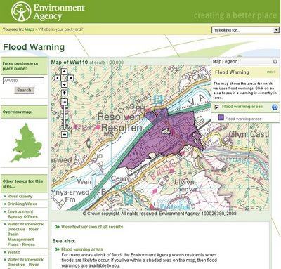 Flood Warnings Mapped - Environment Agency