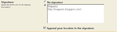 Gmail signature location