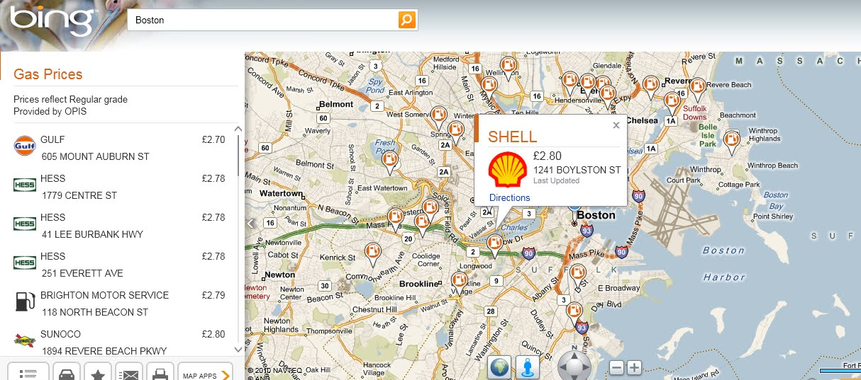 Bing Maps Wa... Bing Maps
