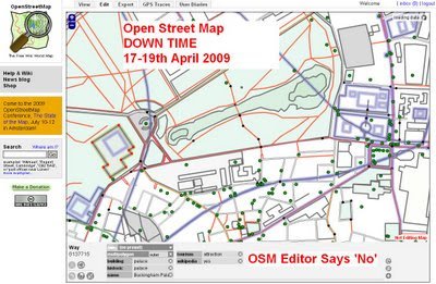 OSM is Due Downtime for Upgrading - Read Only Mode