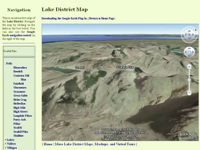 Lake District Map Updated