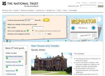 National Trust - Inspirator