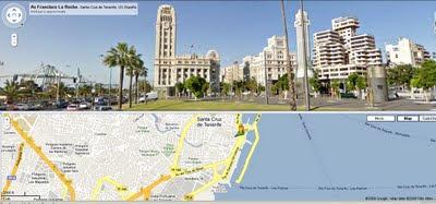 Street View Tenerife.