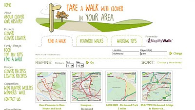 Take A Walk Clover Maps