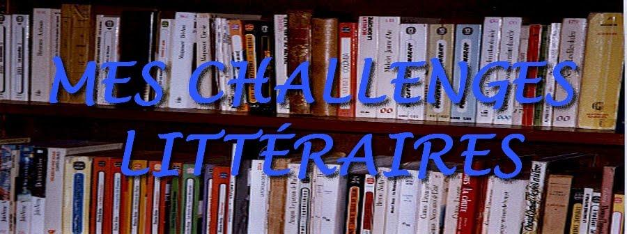 Mes challenges littéraires