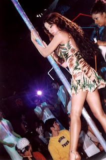 Celina Jaitley Pole Dance Photos