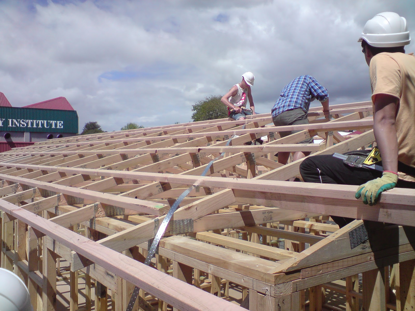 Andrews Blog Roof Construction