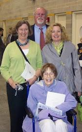 Dorothy, Bob and Elizabeth with Liz