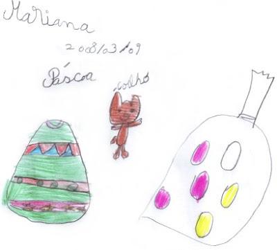 Desenho Infantil sobre a Páscoa