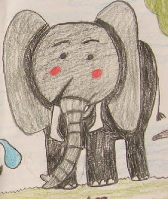 desenho de um elefante