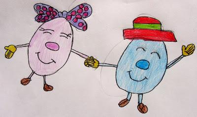 Desenho infantil: Páscoa