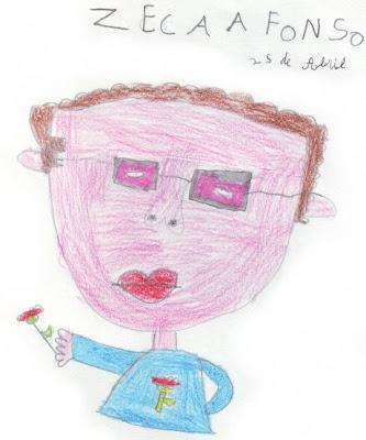 Zeca Afonso: Desenho infantil
