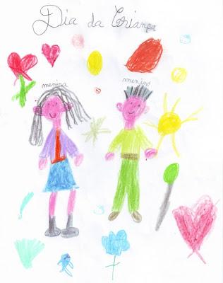 Desenho Infantil: Dia Mundial da Criança