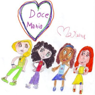 Desenho infantil: Doce Mania