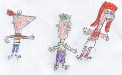 Desenho infantil: Phineas, Ferb e Candace