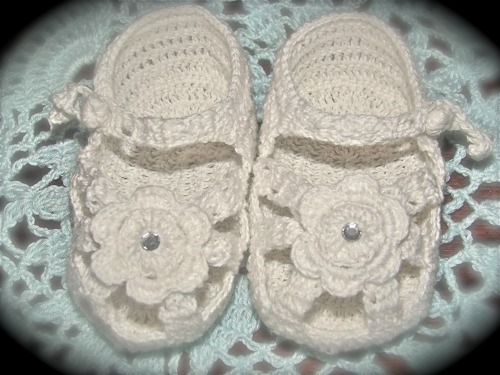 Sandalias en Crochet