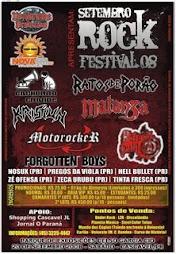 20/09/2008  SETEMBRO ROCK FESTIVAL cascavel