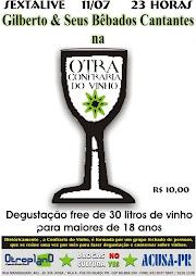 11/07/08  GILBERTO E SEUS BÊBADOS CANTANTES foz do iguaçu