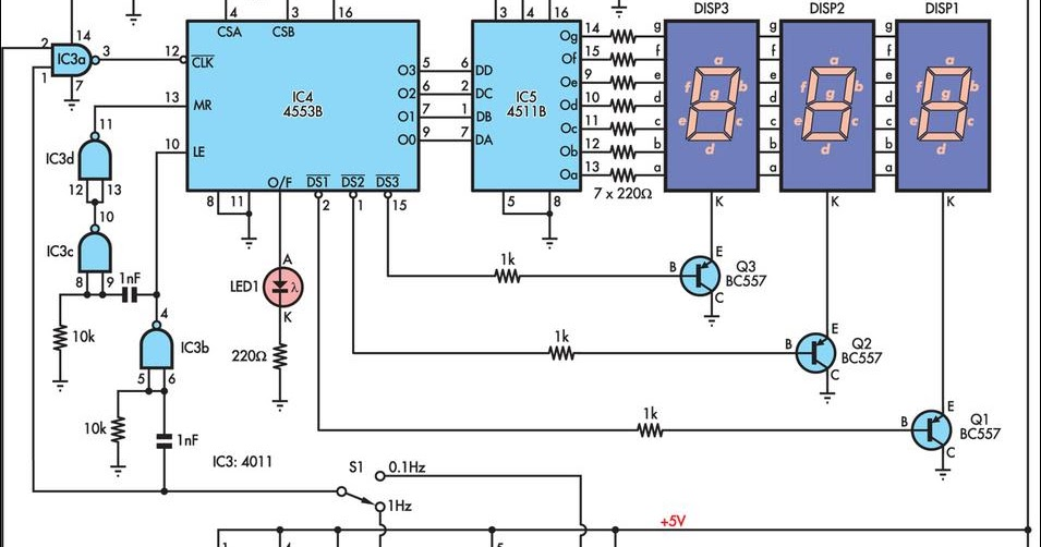 Mains Frequency Monitor Circuit And Explanation