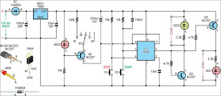 4-20mA Current Loop Tester circuit schematic
