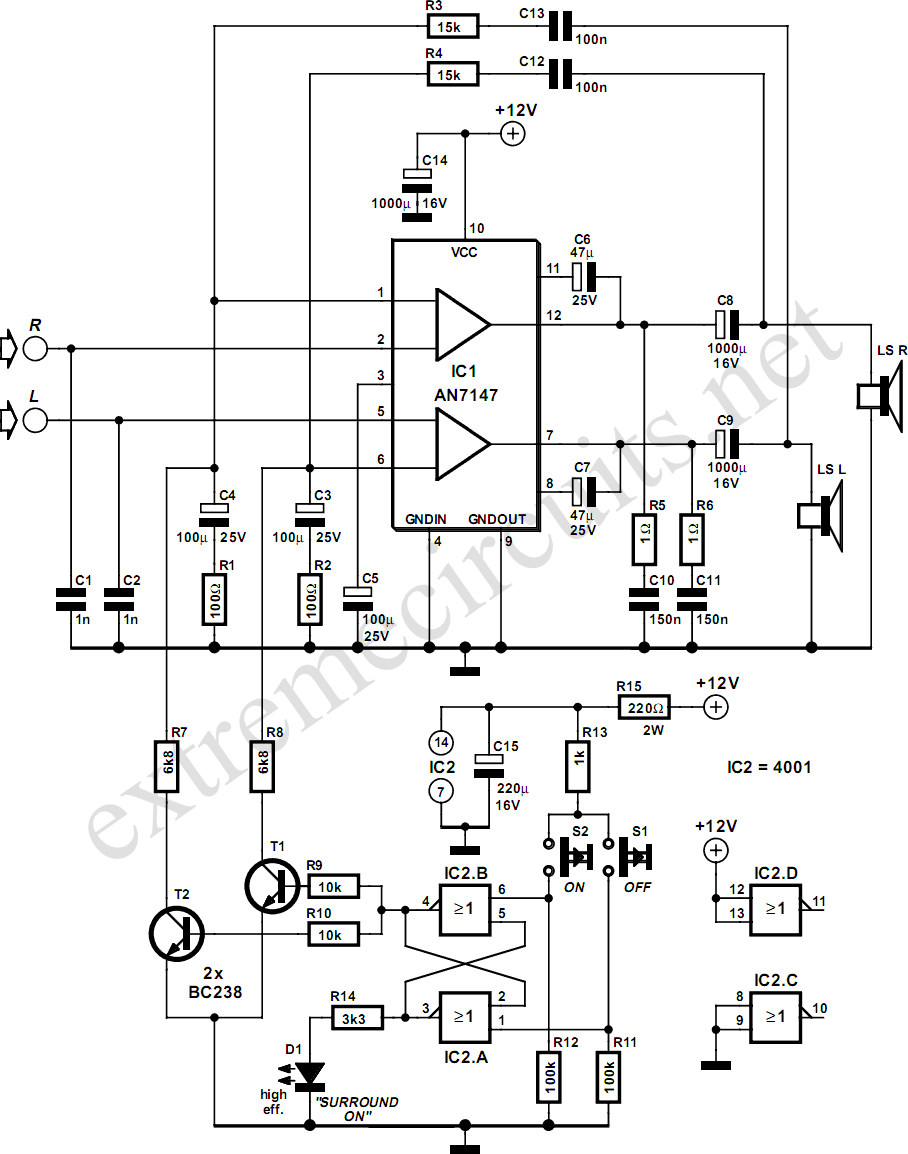 Simple_Surround_Amplifier_Circuit_Diagram diagrams 400300 roswell wiring diagram roswell wiring diagram pa system wiring diagram at virtualis.co