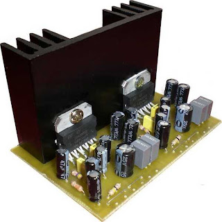 2x20 Watt Stereo Amplifier by TDA2005 circuit