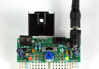 Very Low Dropout Adjustable Breadboard Power Supply